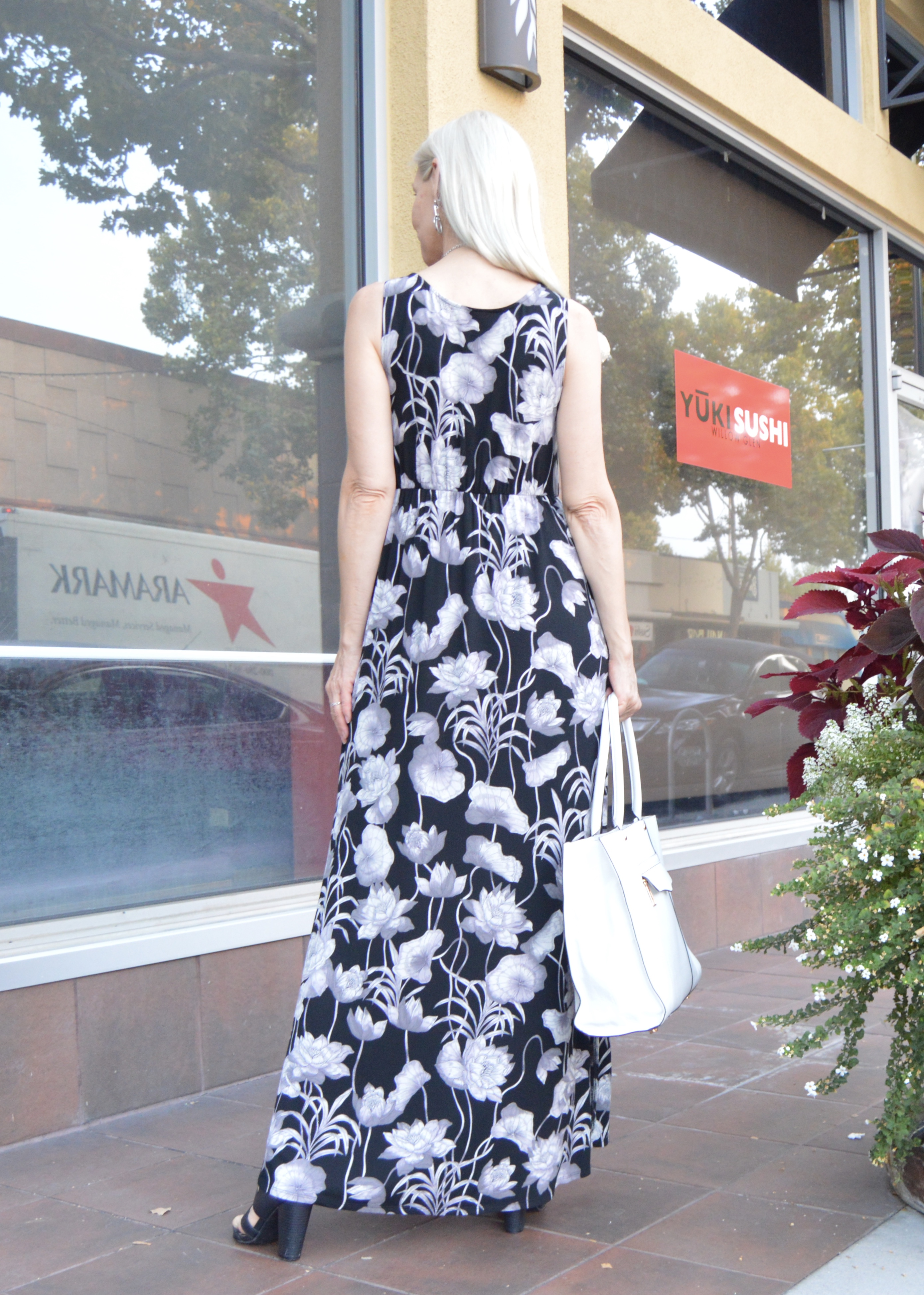 soft flattering maxi dress