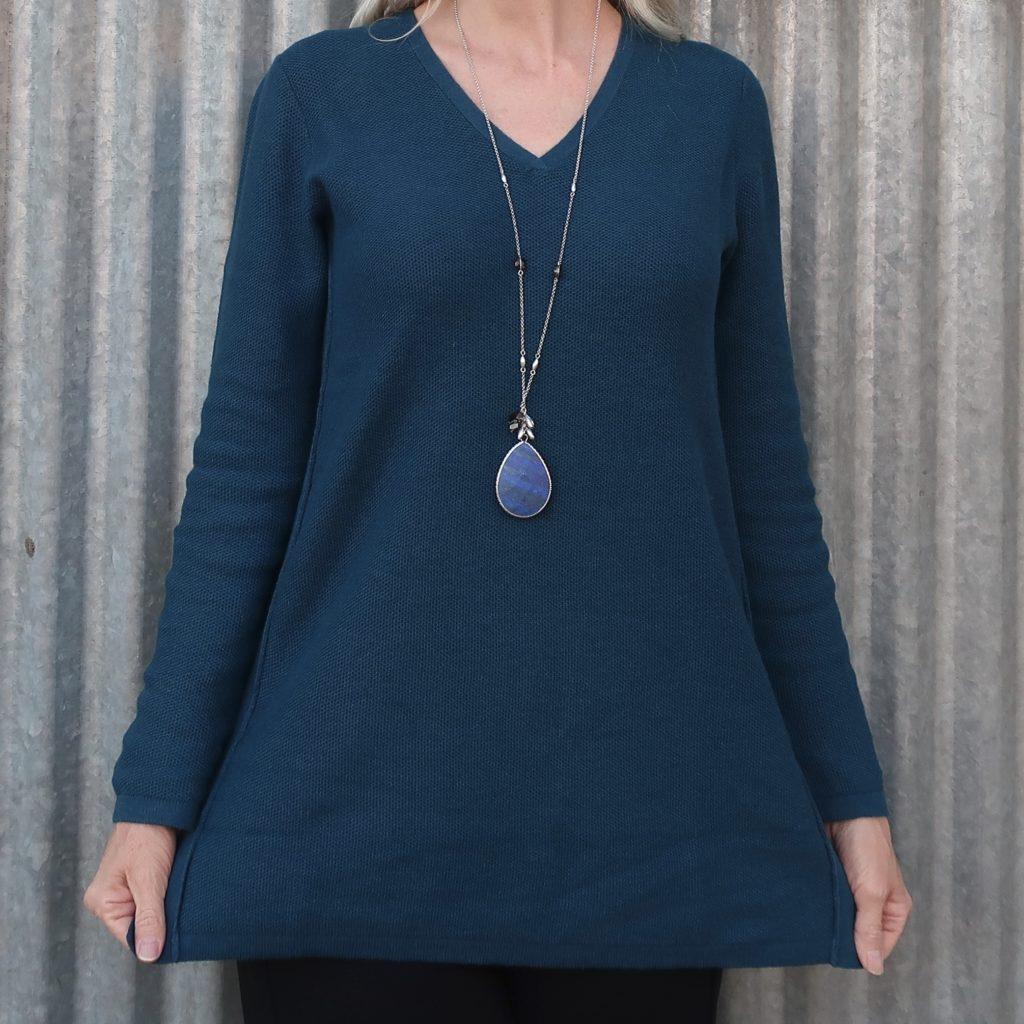 beautiful blue lapis pendant from J.Jill