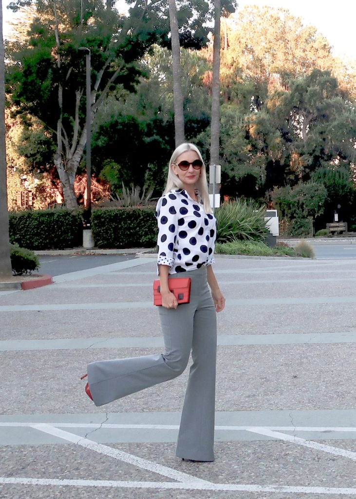 work to date night trousers, style over 40, style over 50