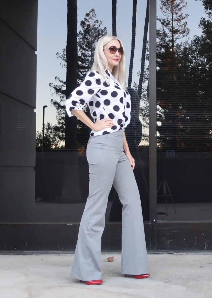 flattering pants for pear shapes