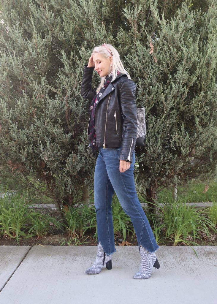 fall outfit for women over 40