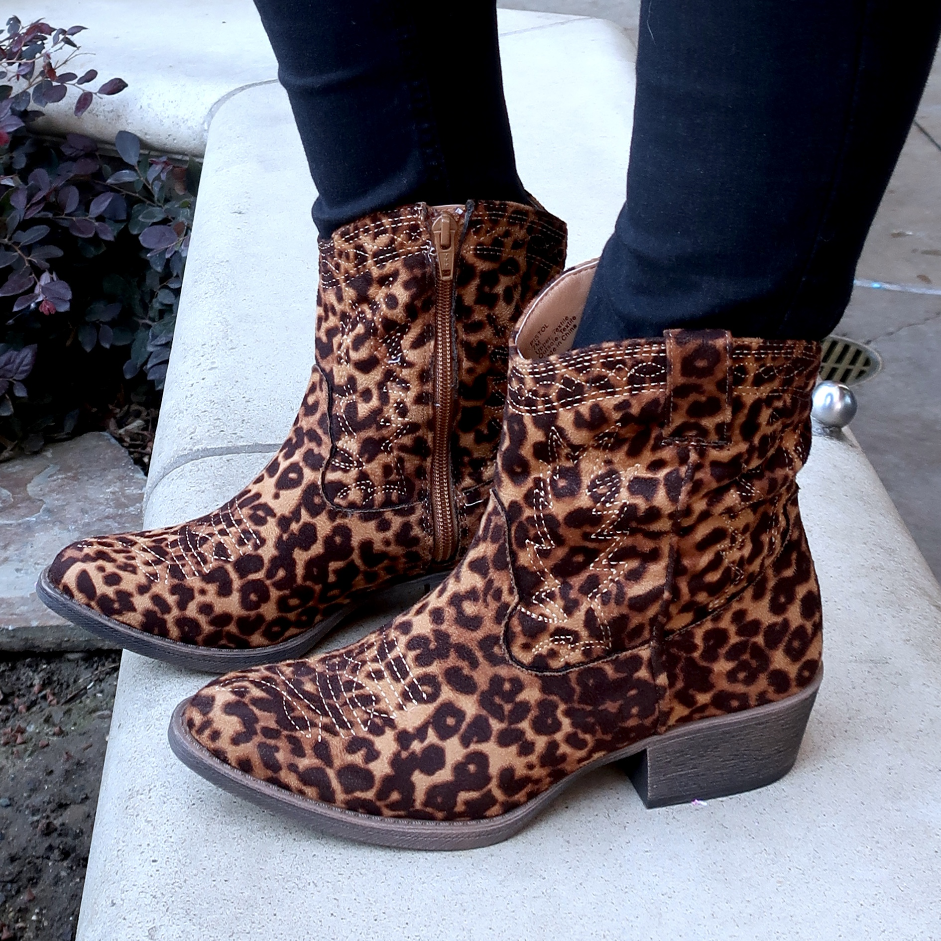 leopard trend with western trend