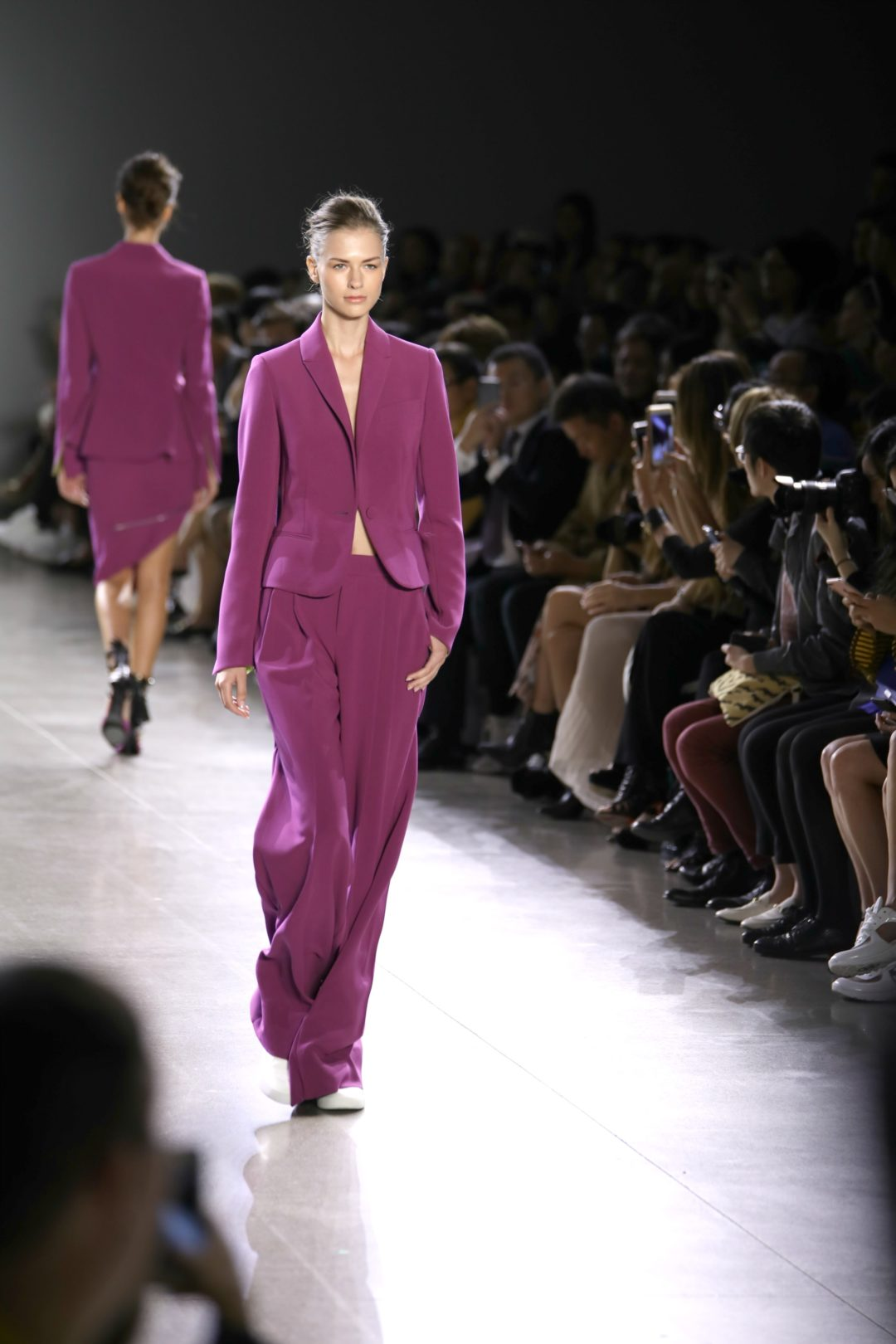 Taoray Wang SS 2019, suit trend, pink trend