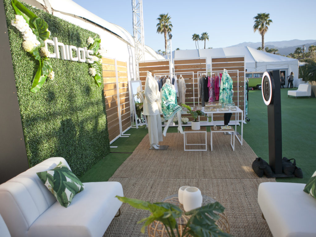 Chico's Pop Up at Fashion Week El Paseo