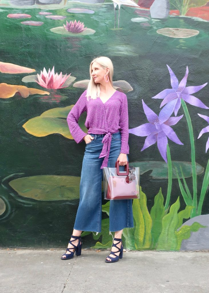 spring outfit for women over 40