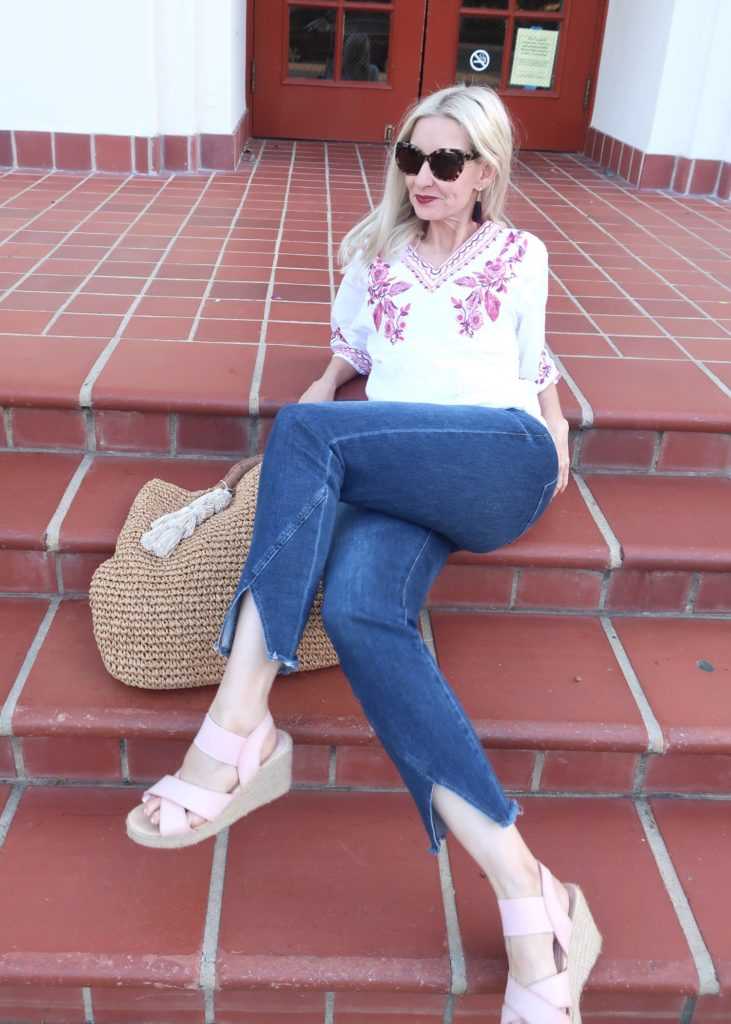 summer outfit style over 40