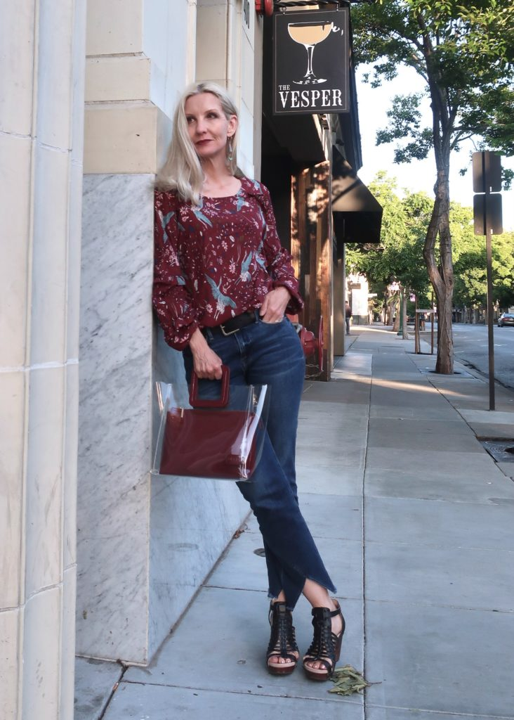 spring outfit for women over 50