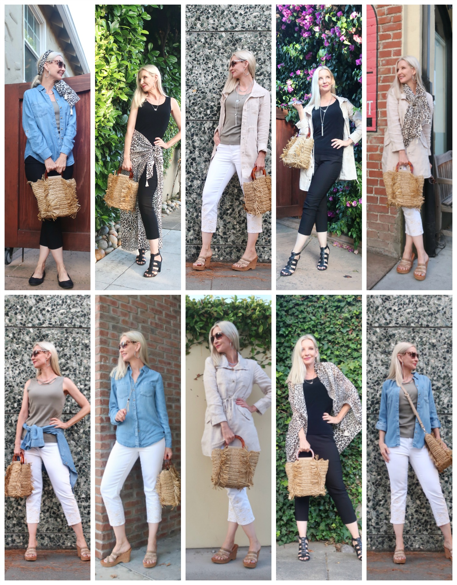 travel capsule wardrobe for middle aged women