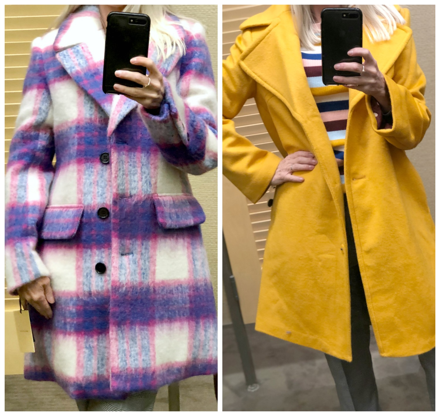 dressing room diaries Nordstrom Anniversary Sale - coats