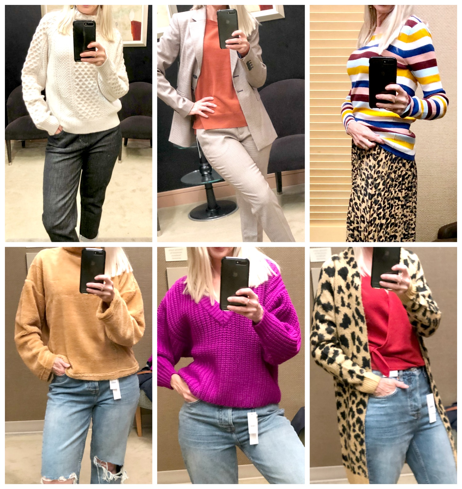 dressing room diaries Nordstrom Anniversary Sale - sweaters