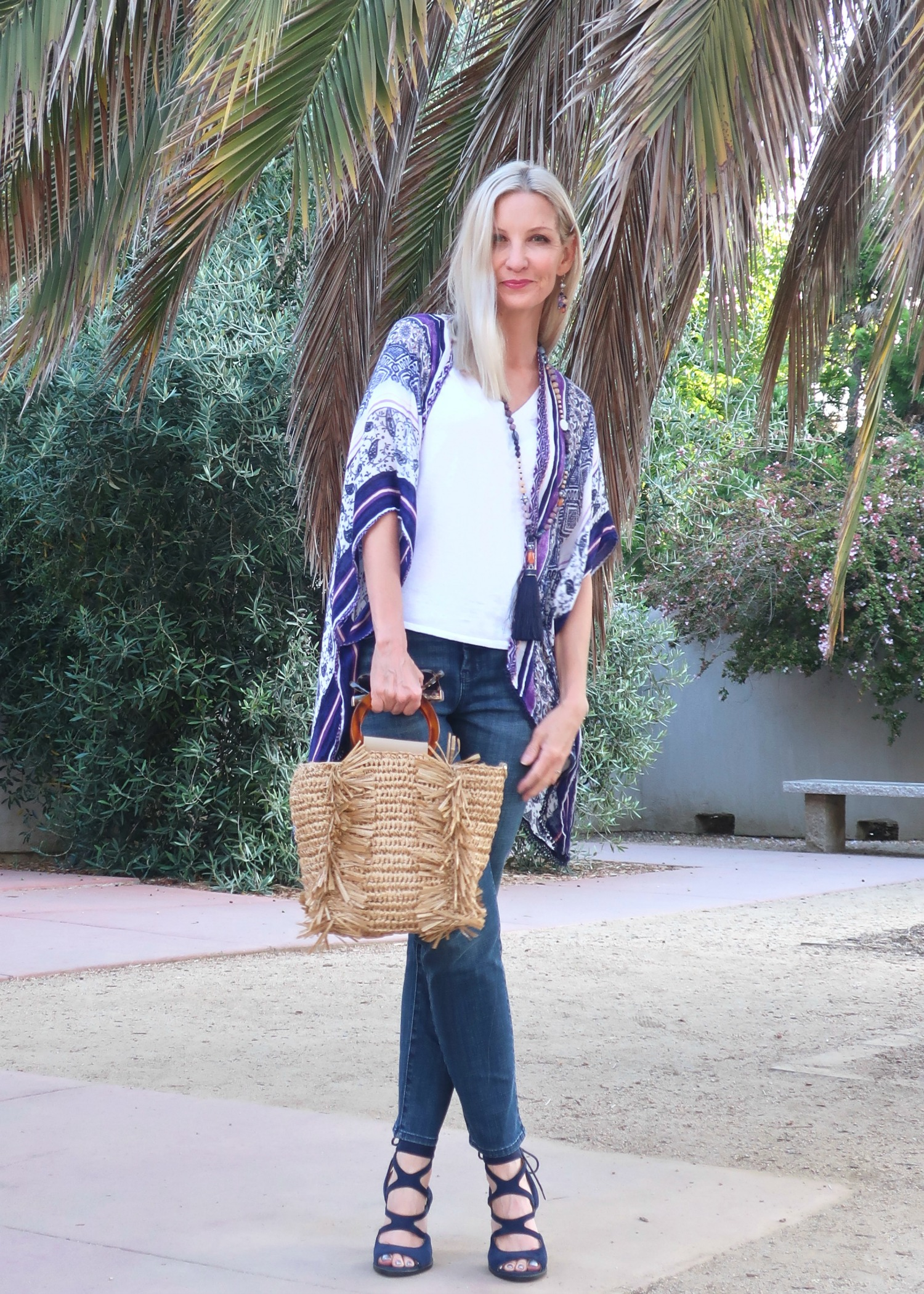 boho style for women over 50