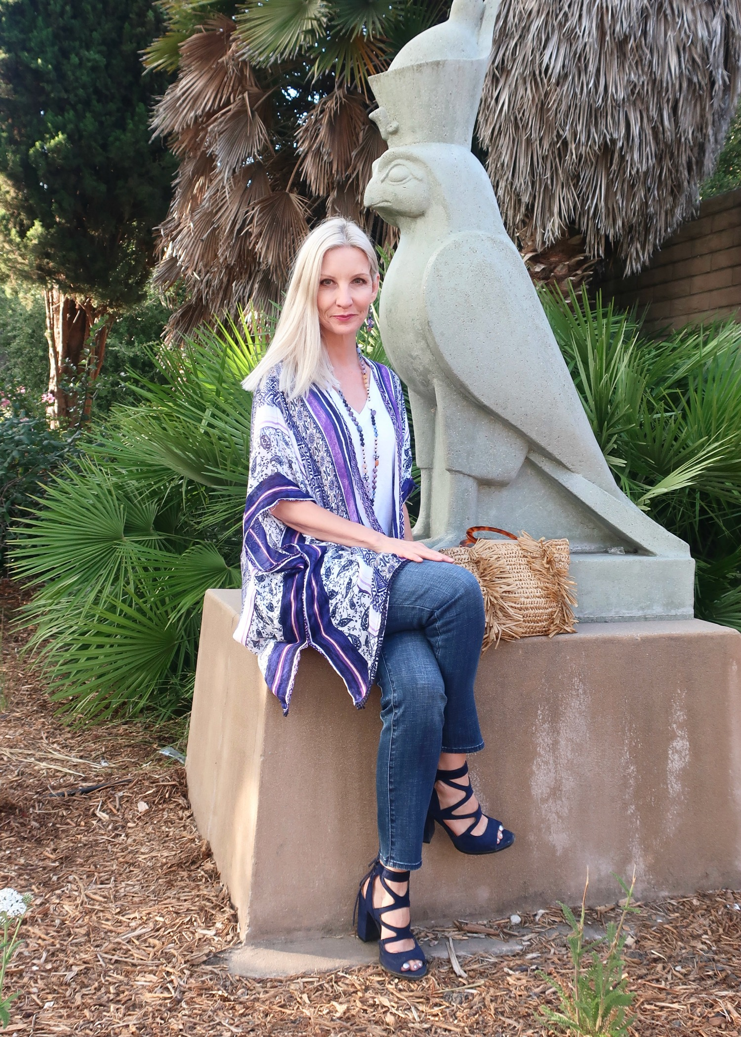 boho style over 40 from Chico's