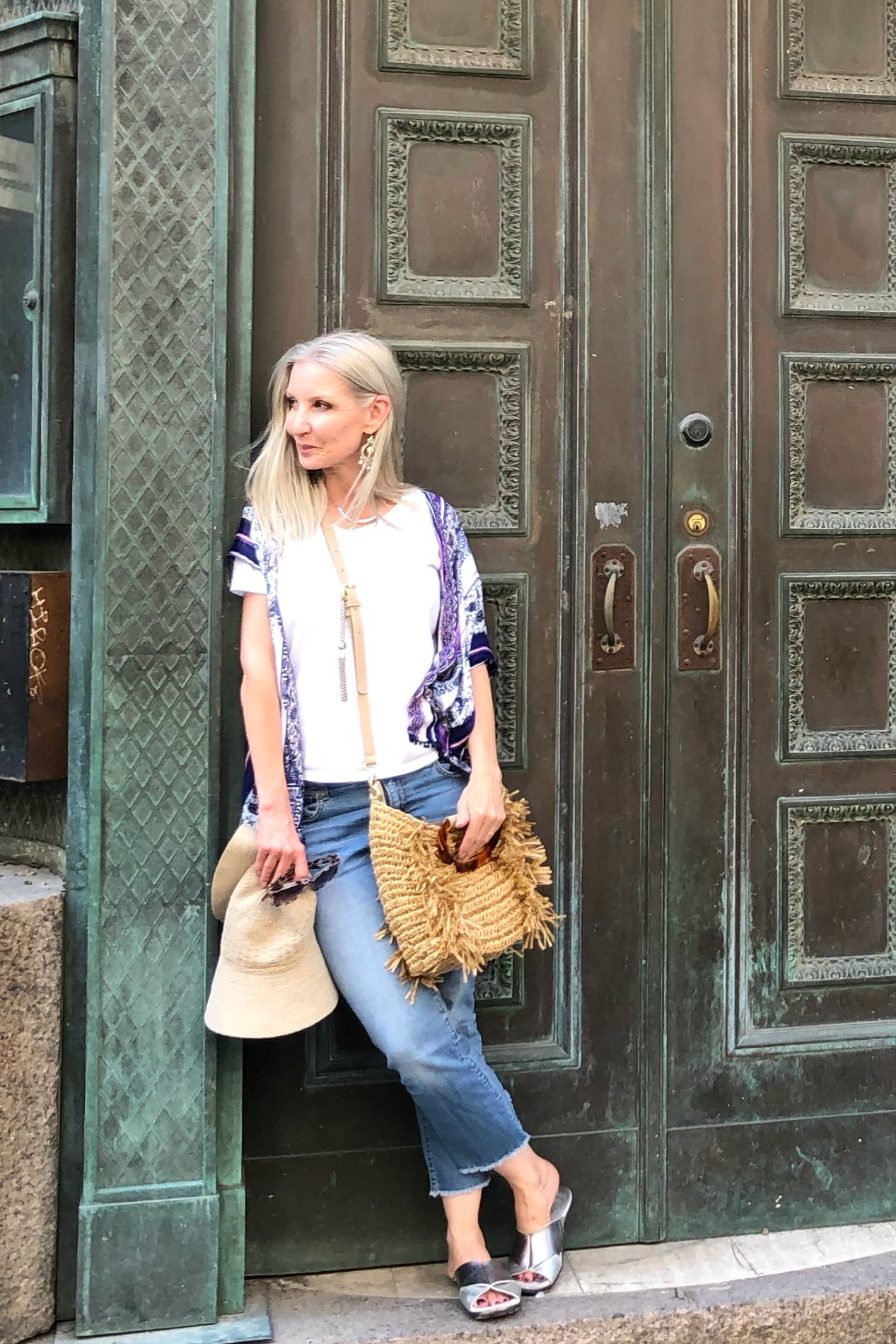 Chico's boho chic outfit