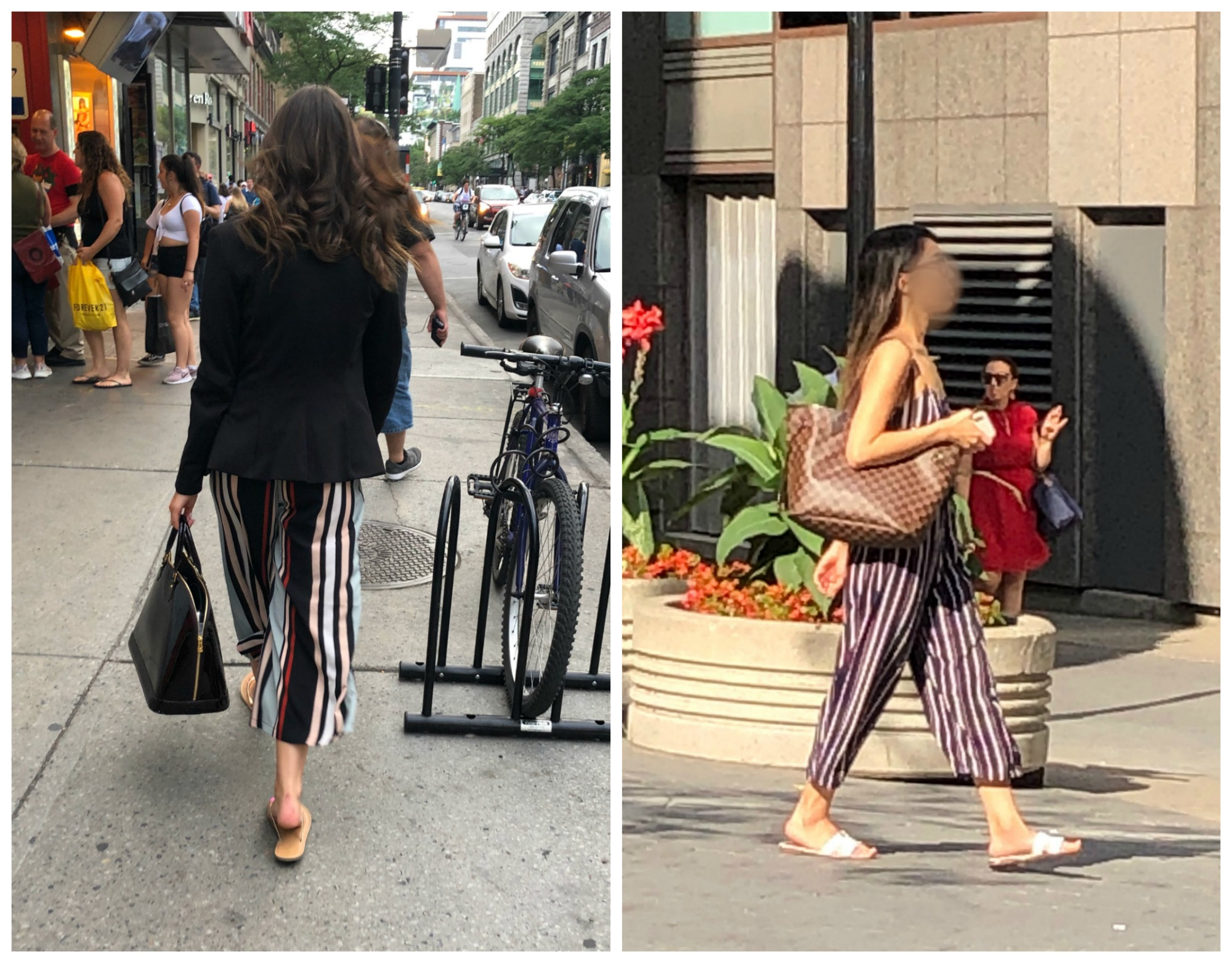 summer style in Montreal