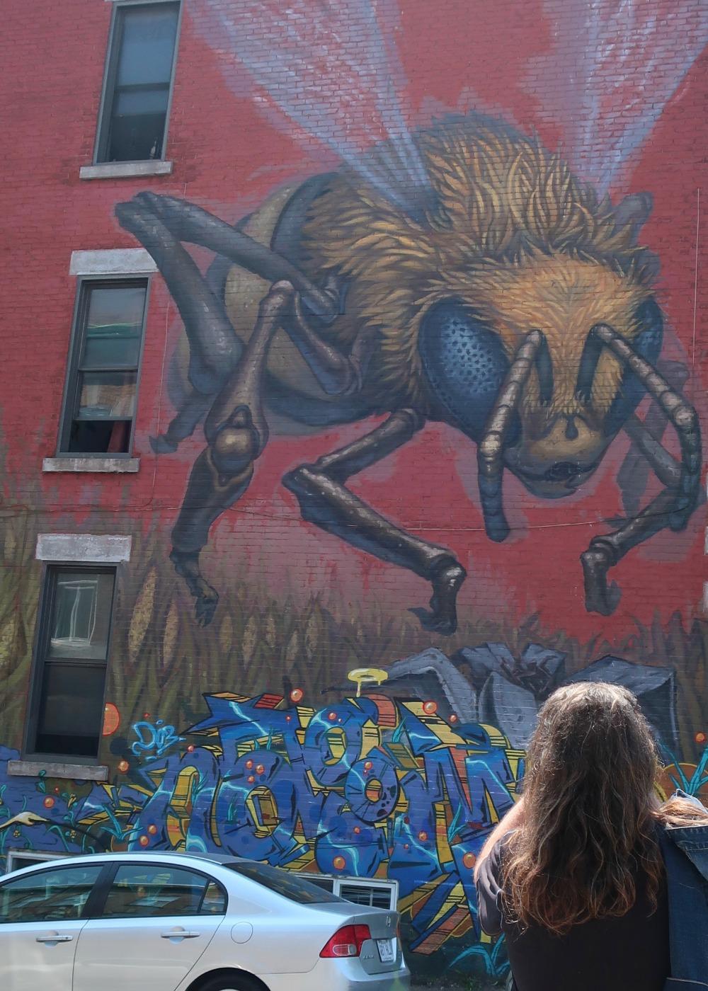street art in Mile End