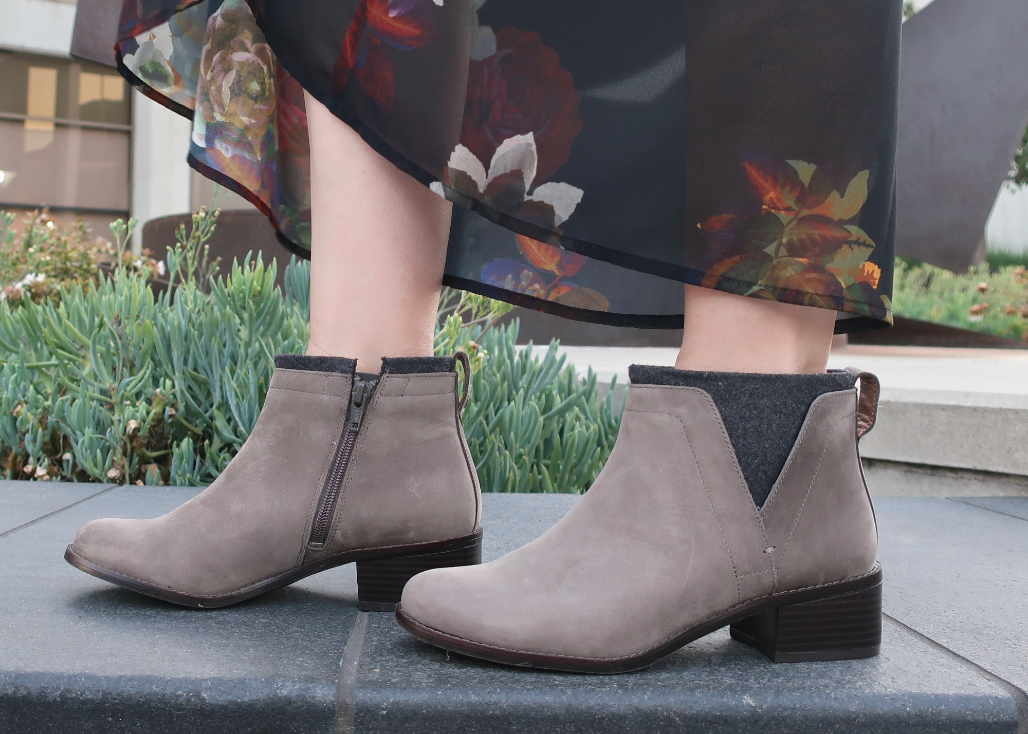 comfortable booties for fall
