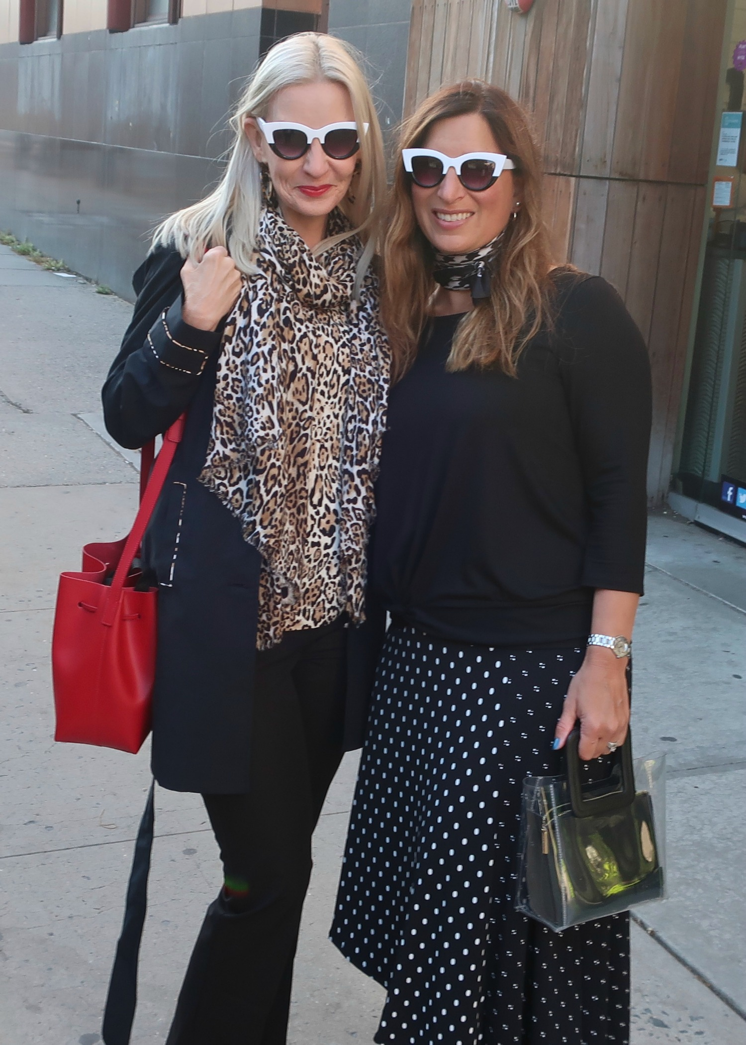 bay area bloggers over 40 at NYFW