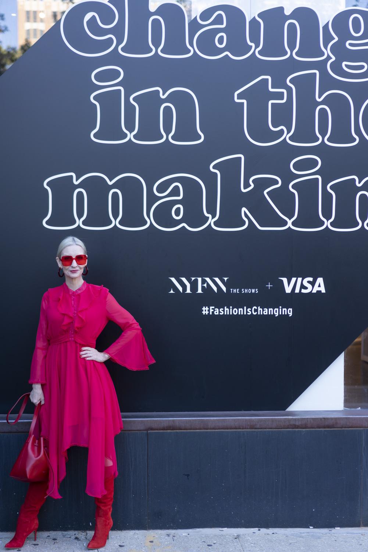 #FashionIsChanging NYFW street style