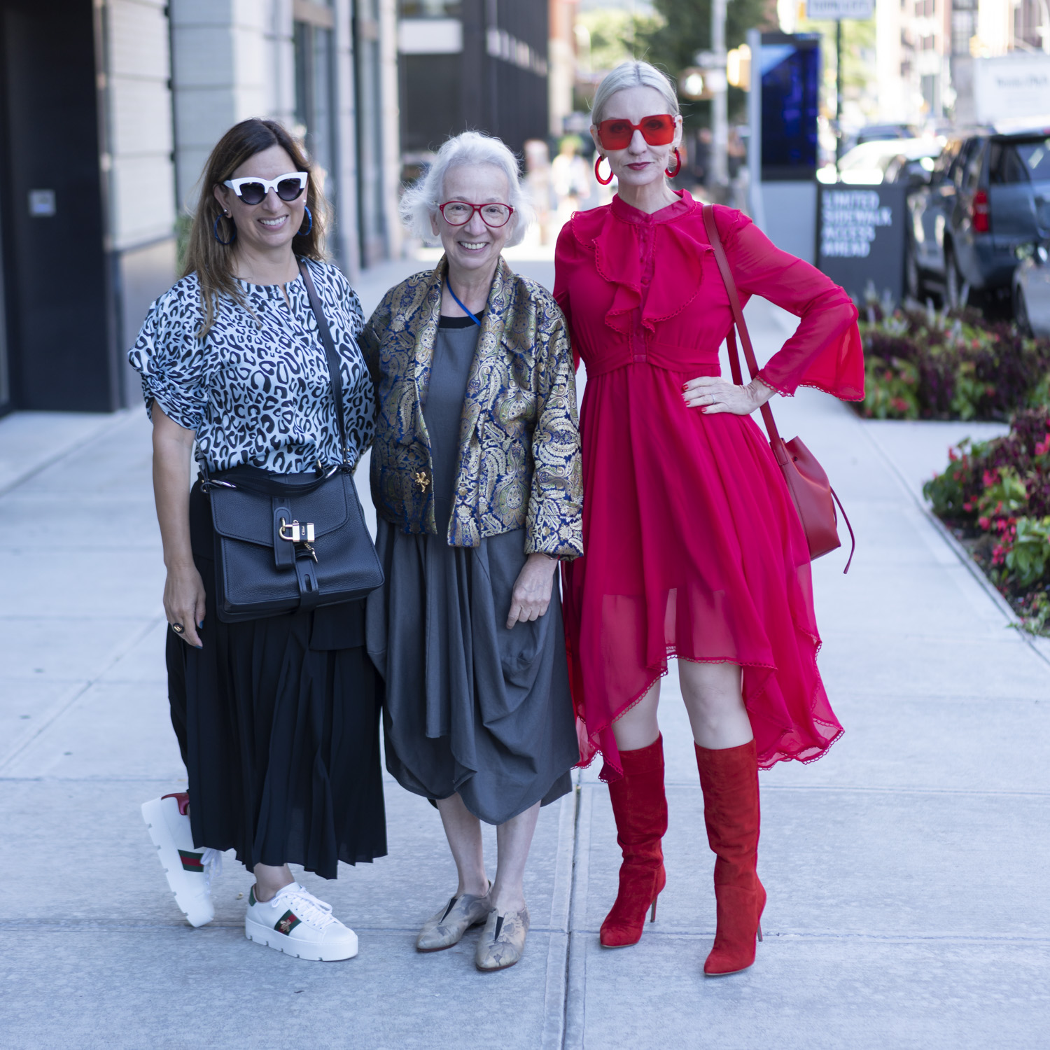 bloggers over 40 at NYFW