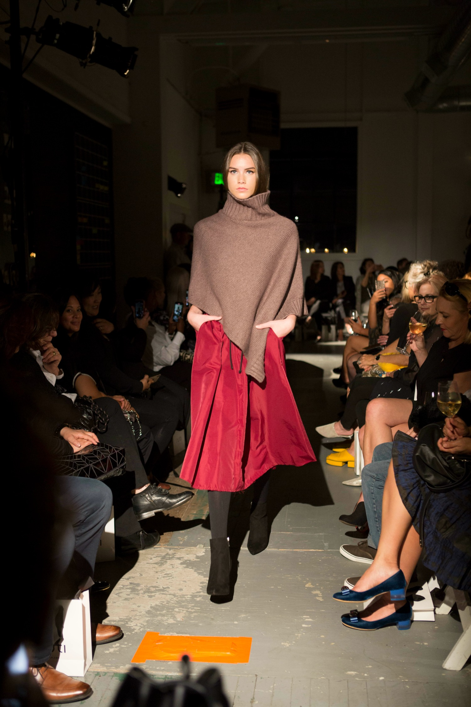 poncho for fall 2019