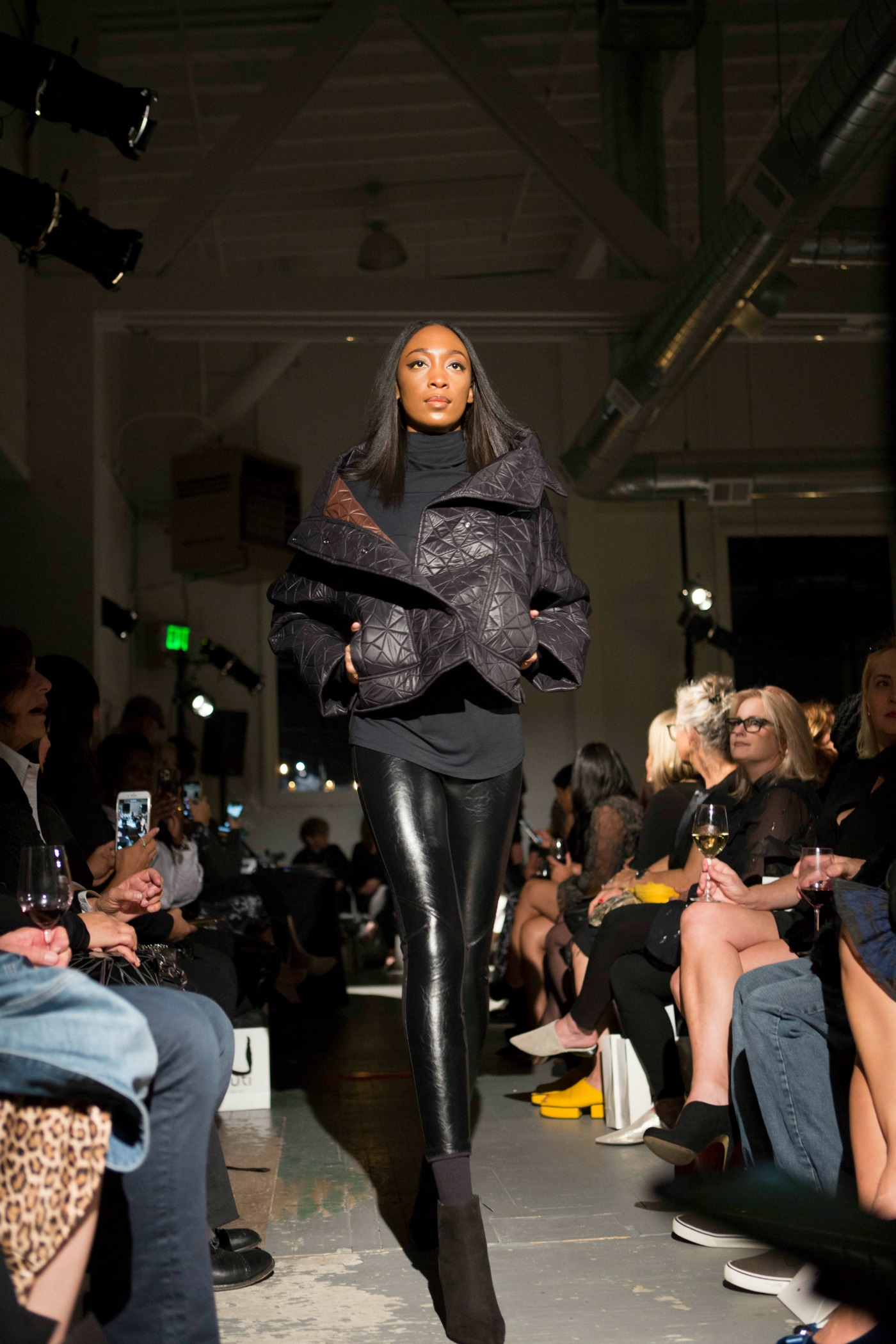 Leather looks for fall from Ruti