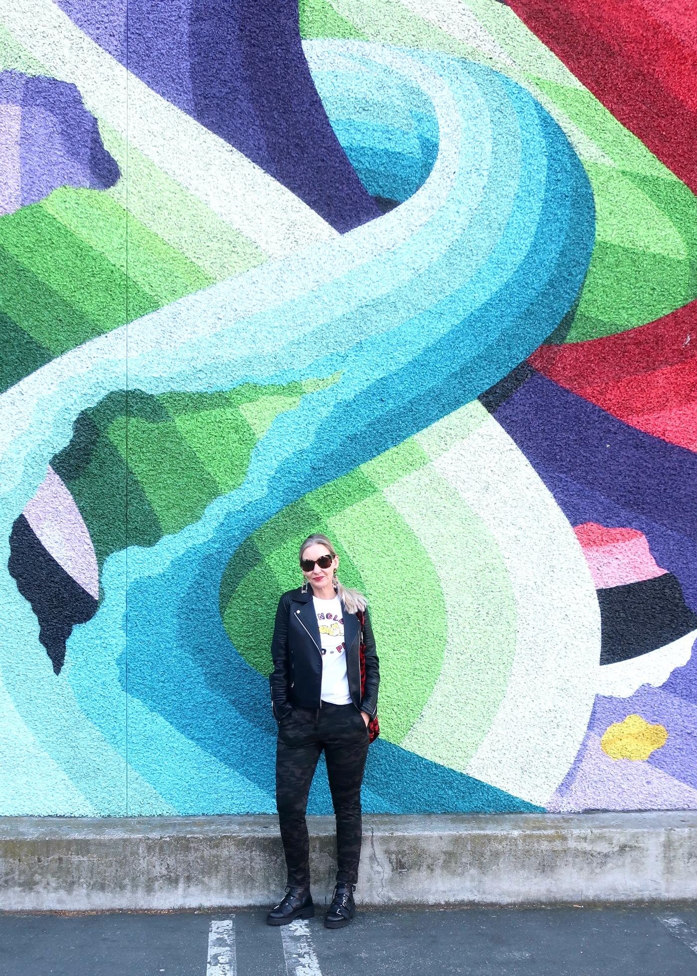 downtown San Jose mural
