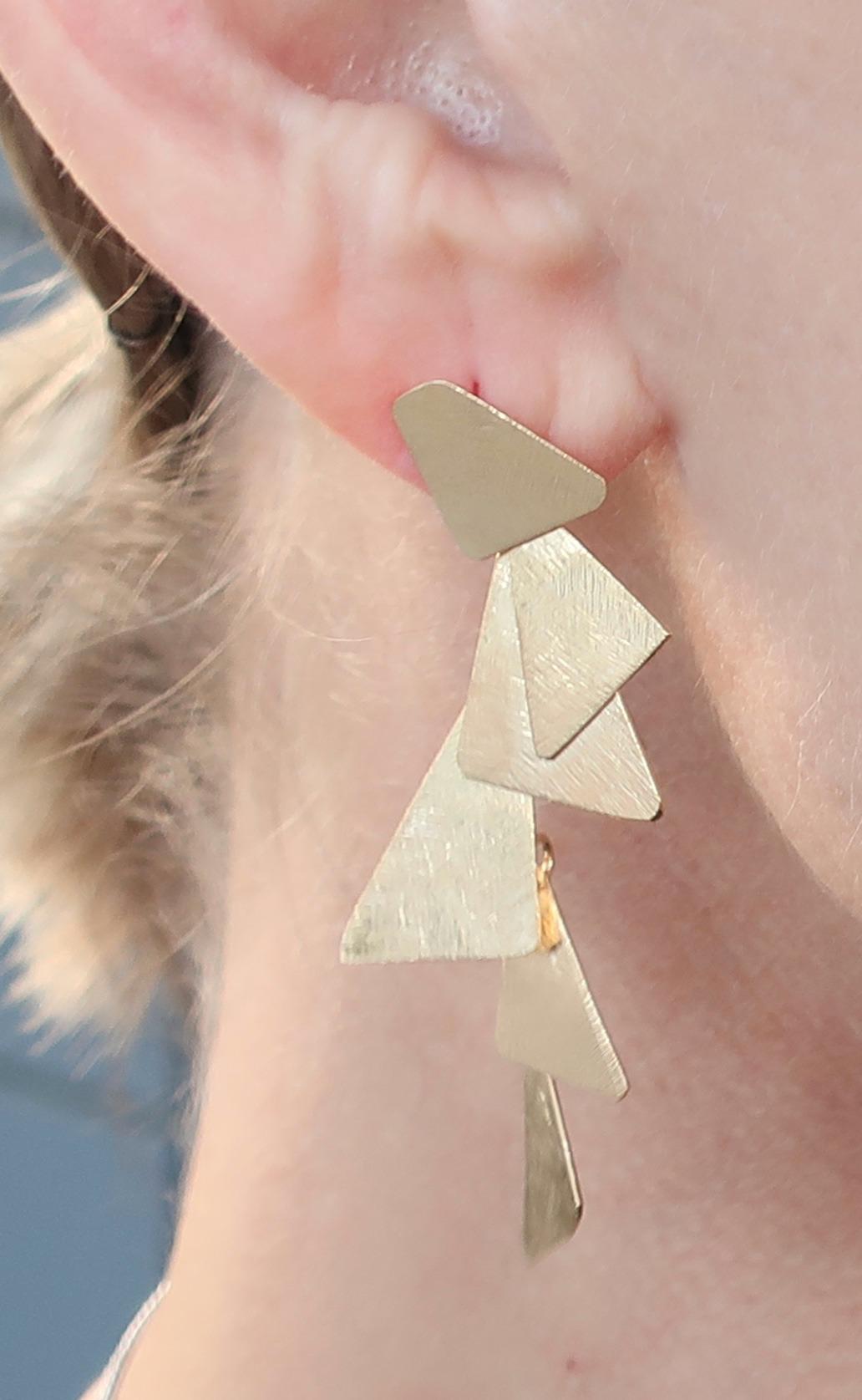 Fiera Petite Geometric Earrings