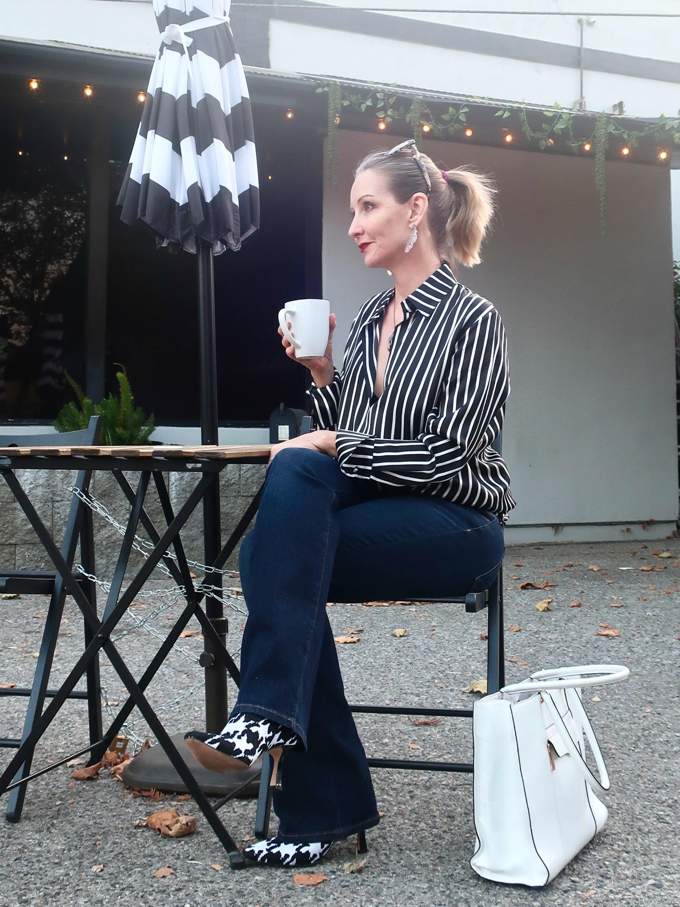 coffee date OOTD