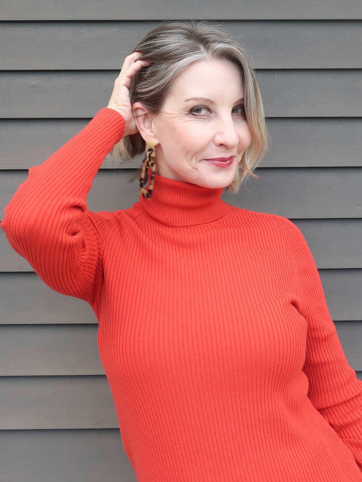Italian Merino Wool turtleneck sweater