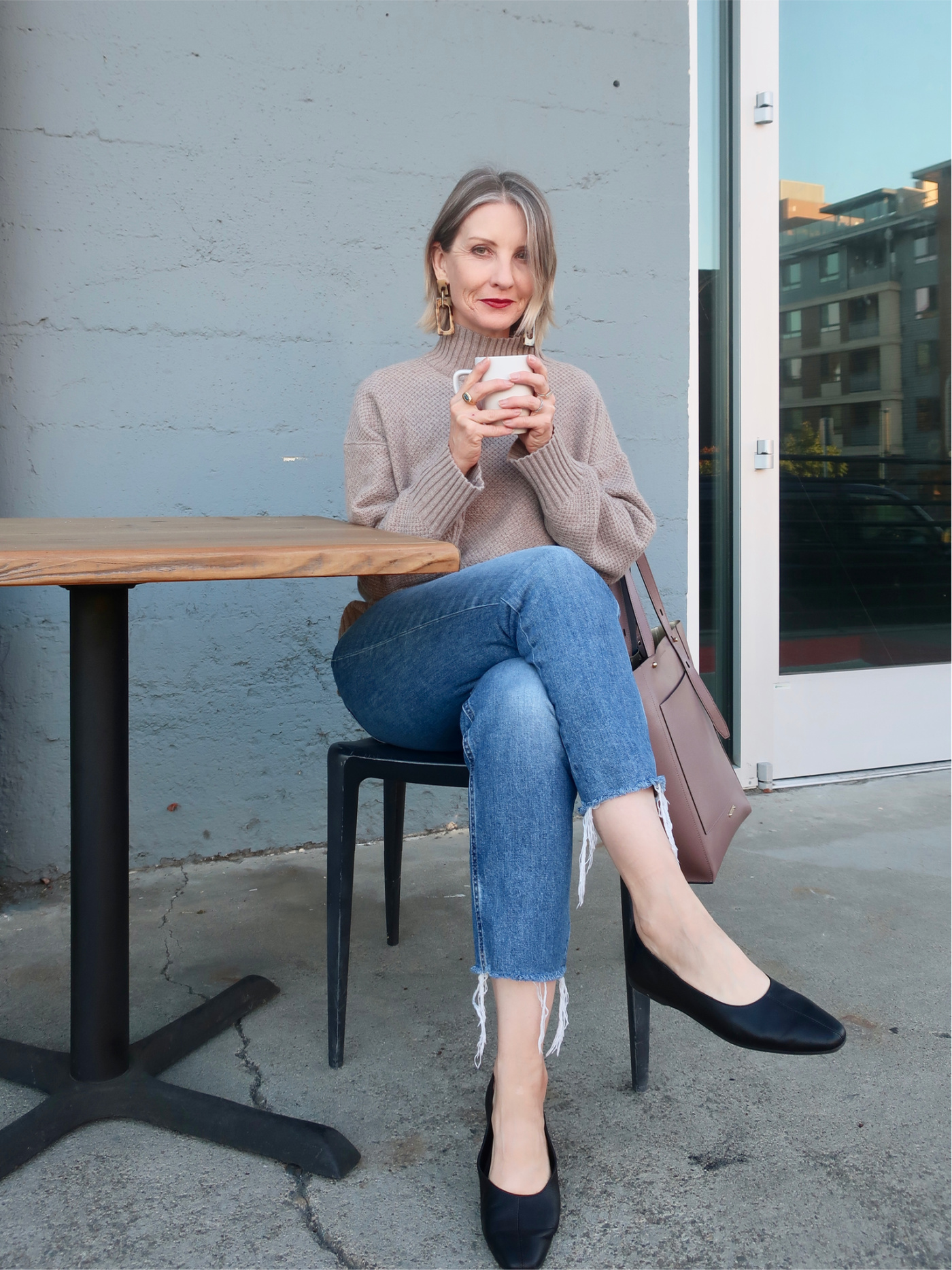 recycled cashmere, sustainable style