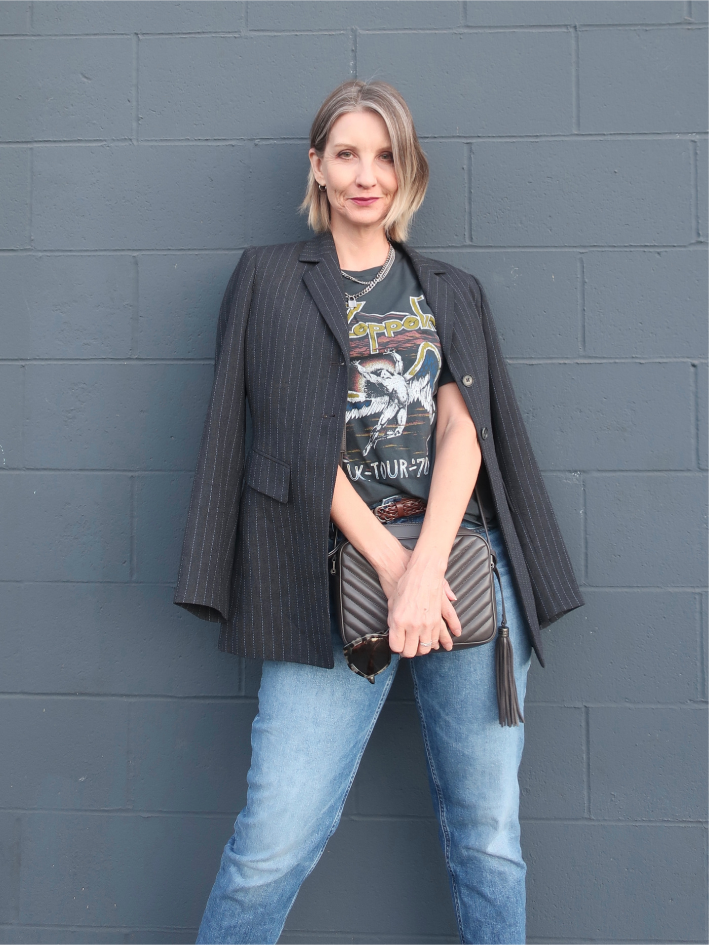 funky and edgy style for women over 40