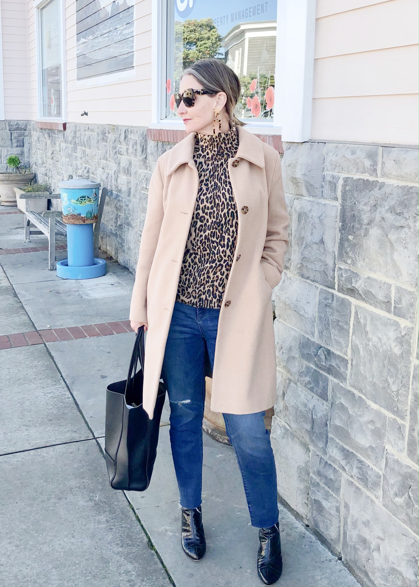 winter outfit for women over 50