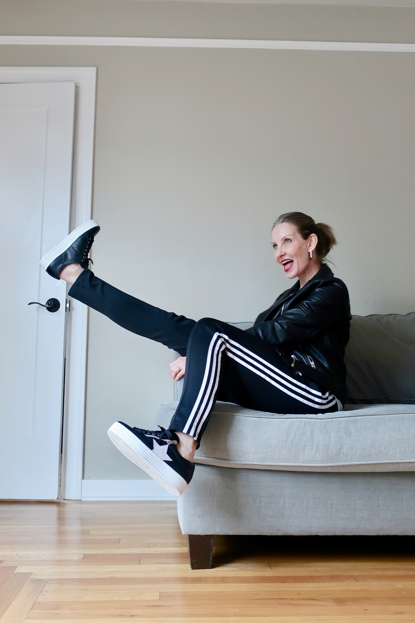 cool kicks, athleisure over 50