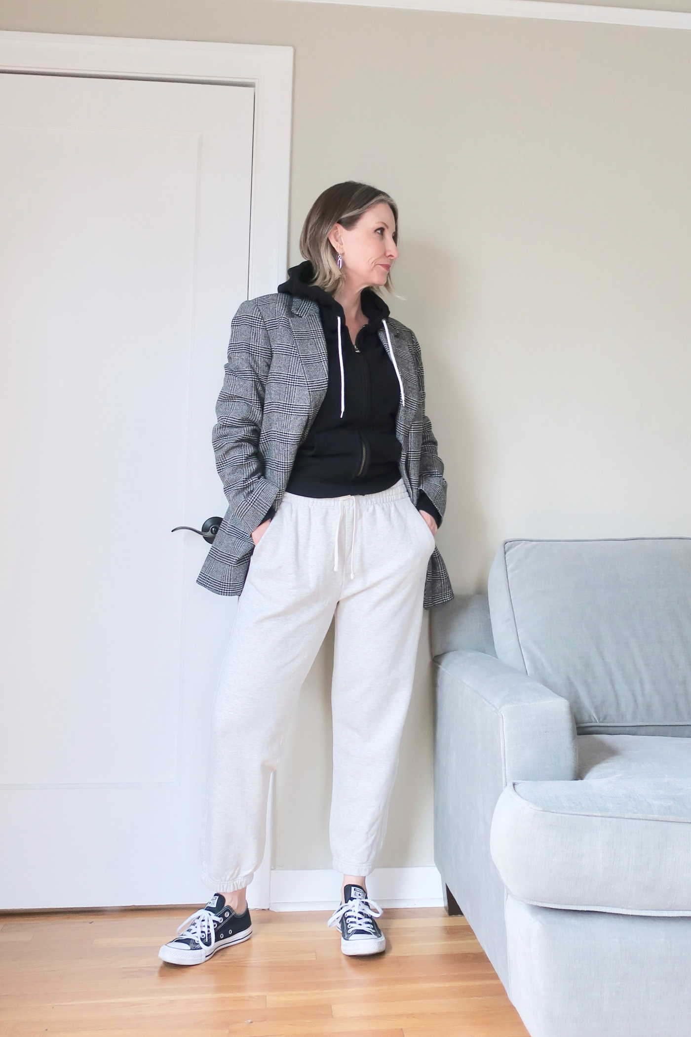 review of Everlane's 100% organic track collection