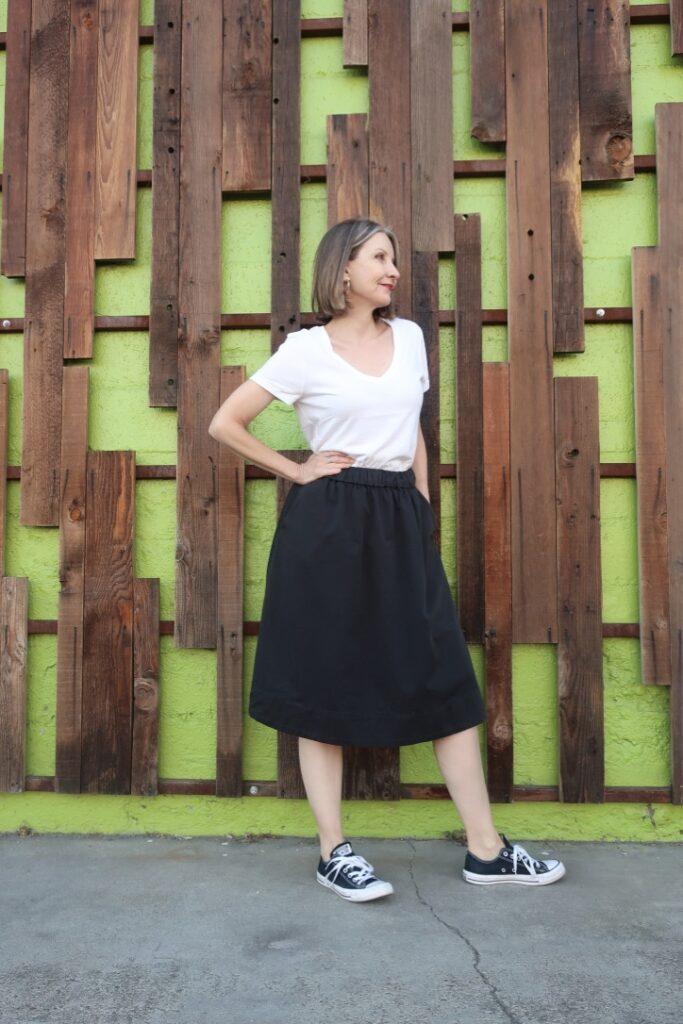 Everlane The Easy Skirt review