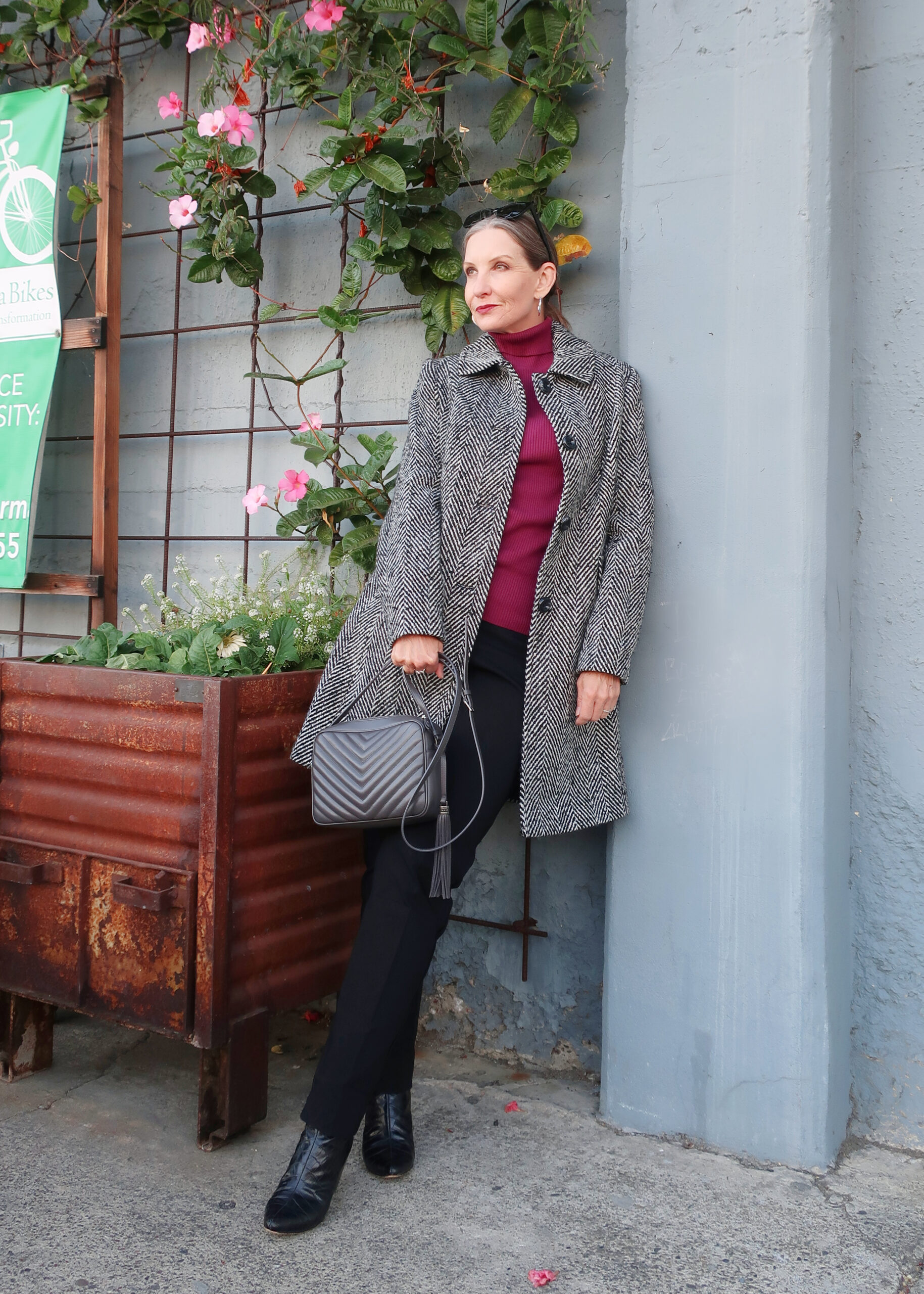 fall style for women over 40, midlife woman style