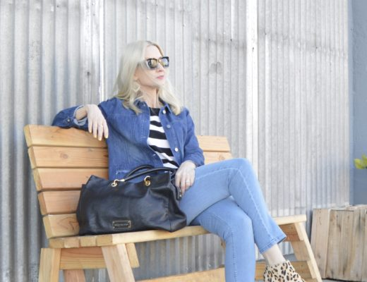 Wardrobe Staples - The Denim Jacket (& Link Up)