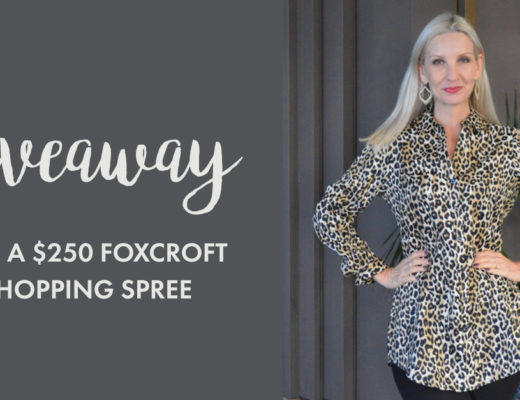 $250 Foxcroft Giveaway! (& Link Up)