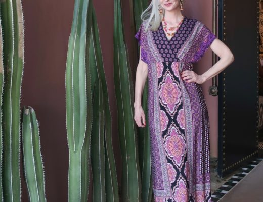 Spring Maxi Dress - Palm Desert with Chico's