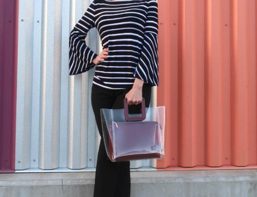 Staud's Shirley Transparent Handbag Review