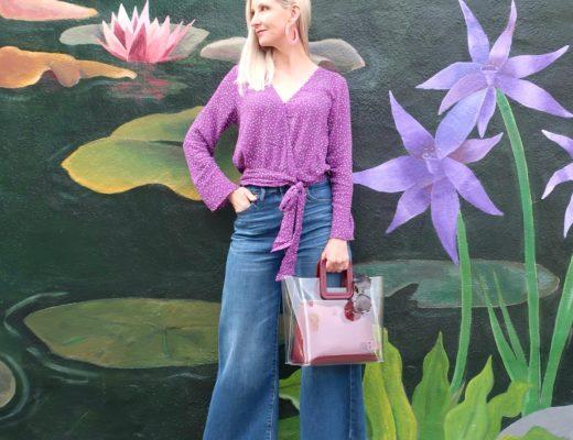 Trend Alert: Transparent Bags + Lavender