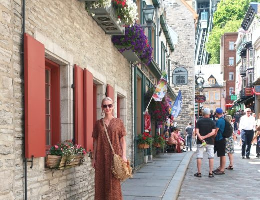 Quebec City & a Versatile Leopard Dress