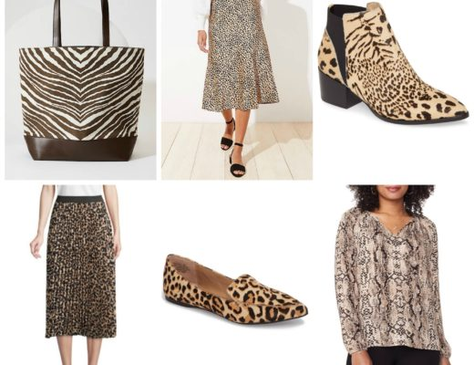 Wear to Work Animal Print