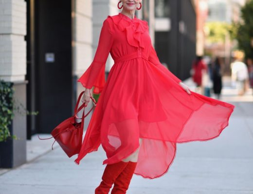 All Red at NYFW!