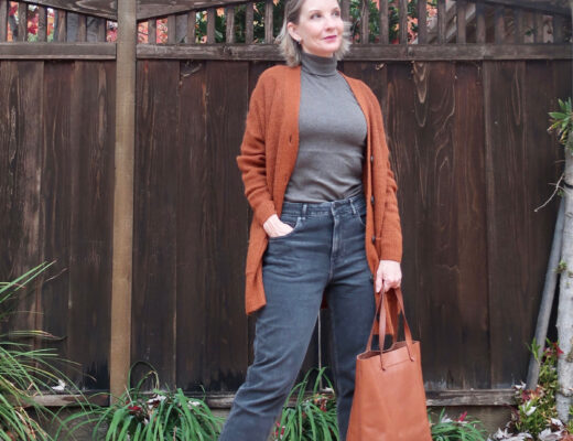 Everlane style, sustainable style, style over 50