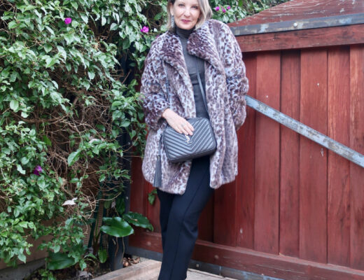 winter style for women over 40