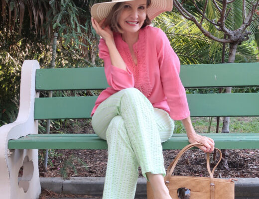 classic summer style for women over 50