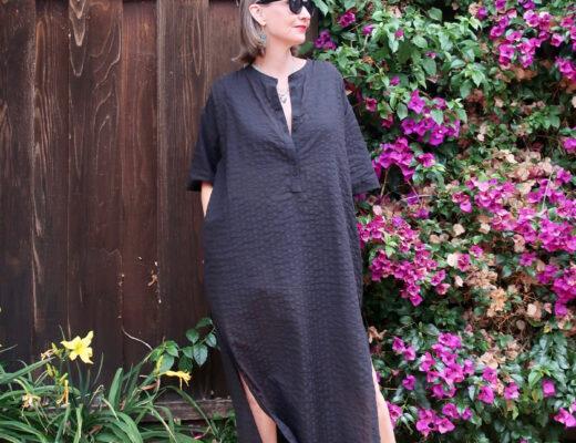 Everlane Organic Cotton Caftan Dress