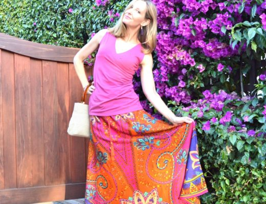 Festive Summer Look with Soft Surroundings & Fun Fashion Friday Link Up!