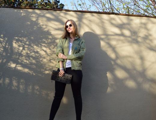 Bomber Jackets & Fun Fashion Friday Link Up!